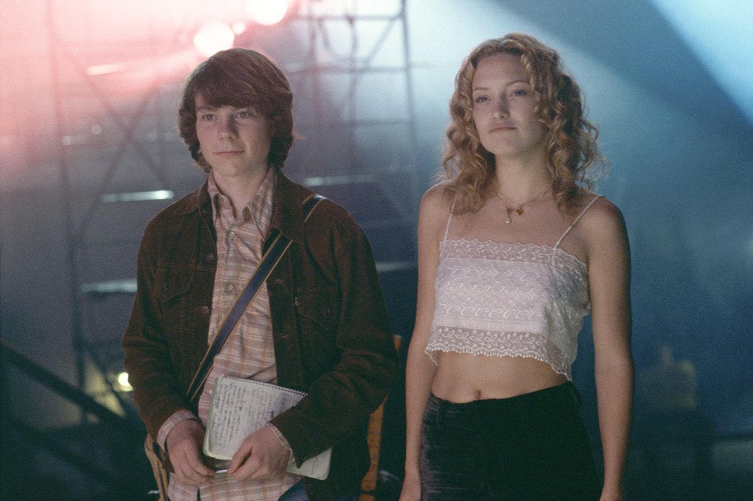 """Patrick Fugit and Kate Hudson in """"Almost Famous"""""""